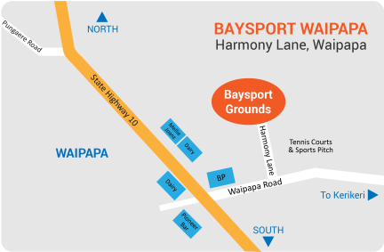 BaySports Map