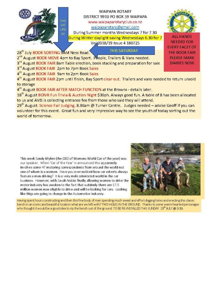 Bulletin edit 250718