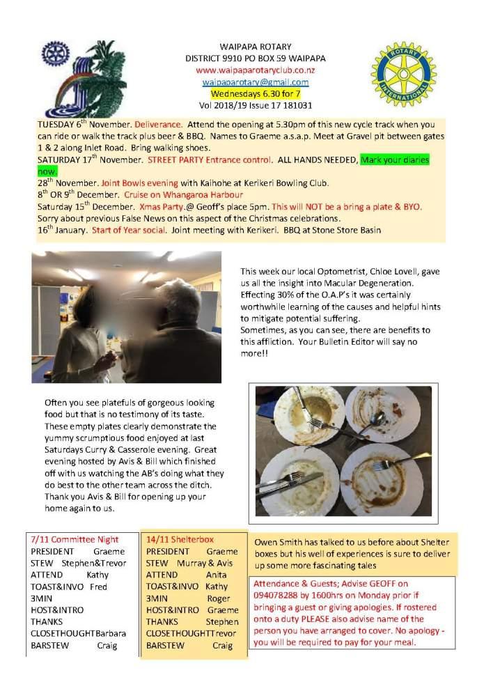 Bulletin 311018