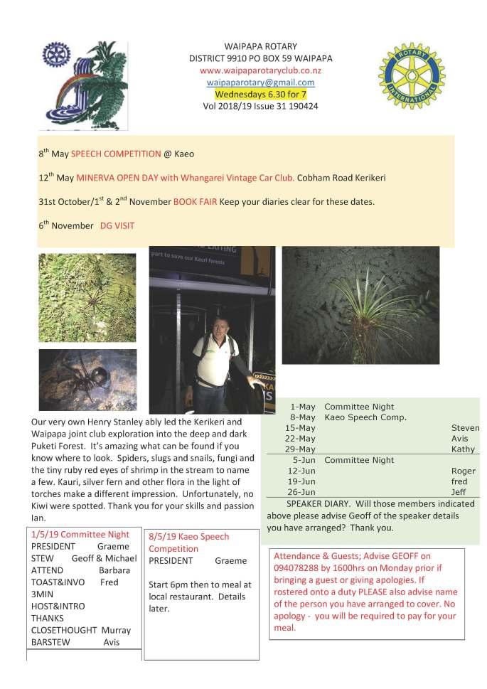 190424 Waipapa Rotary bulletin copy