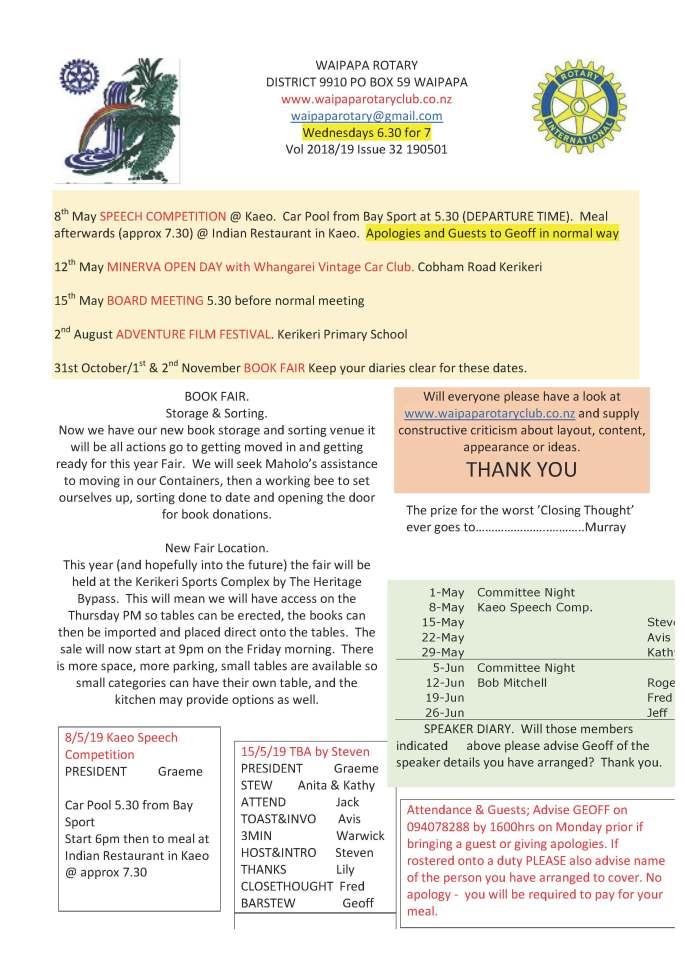 190501 Waipapa Rotary Bulletin_Page_1