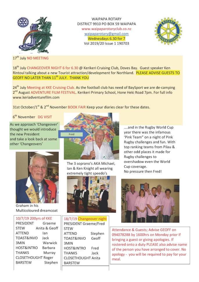 190703 Waipapa Rotary Bulletin copy